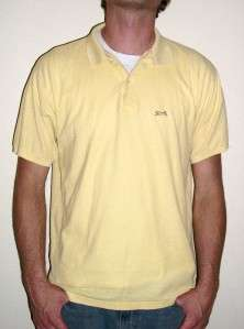 YELLOW POLO SHIRT retro izod punk 80s emo indie music jacket