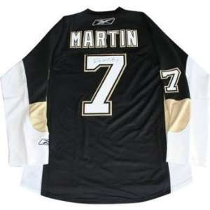 Paul Martin Autographed Jersey   Replica   Autographed NHL