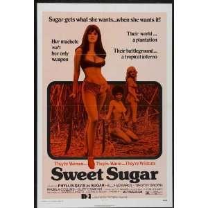 Sweet Sugar Poster B 27x40 Phyllis E. Davis Ella Edwards