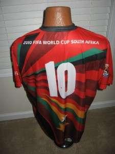 COCA COLA FIFA WORLD CUP AFRICA 2010 SOCCER SHIRT SZ XL