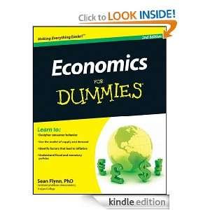 Economics For Dummies: Sean Masaki Flynn:  Kindle Store