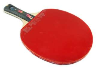 Double Happiness Ping Pong Long Paddle 4 Stars Table Tennis Racket