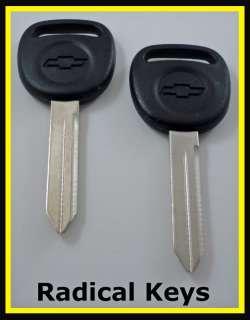 Chevrolet Chevy BLAZER Key Blanks 1999 2000 2001 OEM