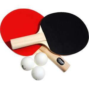 Two Player Table Tennis Set, Table Tennis Rackets and Balls, Table