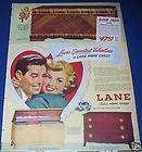 1949 lane cedar hope chest love s valentine ad expedited