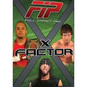 Full Impact Pro Wrestling FIP   X Factor DVD Movies & TV