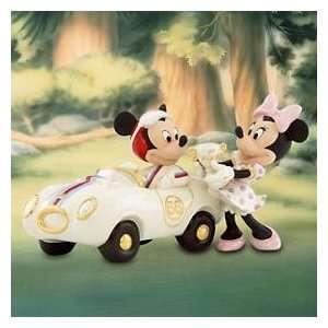 Lenox Disney Winners Circle with Mickey Mouse Figurine