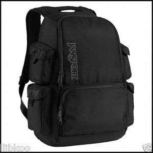 New** Jansport Bulldozer Laptop Backpack Black 15.4