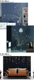 Up to 104 Stars Bedroom Bathroom Kitchen Wall Art Window Stickers Kids