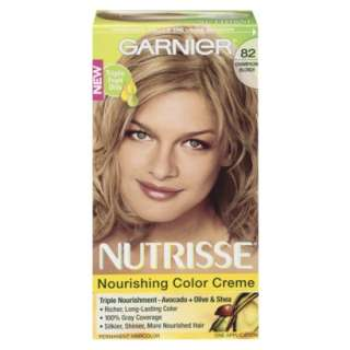 Garnier Nutrisse Hair Color 82 Champagne Fizz Champagne Blonde.Opens