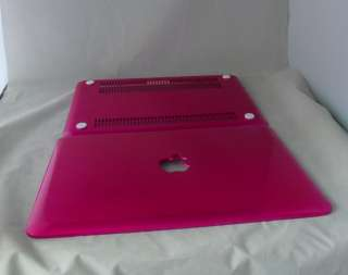 Hot Pink Solid Hard Case Cover f MacBook Pro 13 A1278