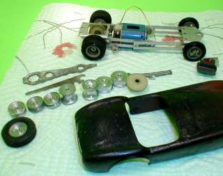 AMT 1964 Ford Cobra Roadster 1/24th Slot Car Parts Kit 65 Issued 9002