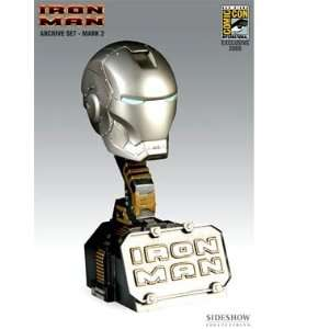 MARVEL Archive Set: SDCC Exclusive Iron Man Helmet Mark 2