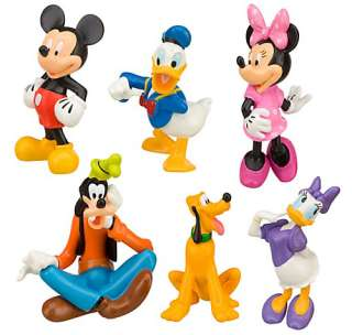 DISNEY MICKEY MOUSE CLUB HOUSE CHARACTERS FIGURE NEW