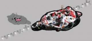 MotoGP #58 Marco Simoncelli Gresini Honda Key Ring Fob