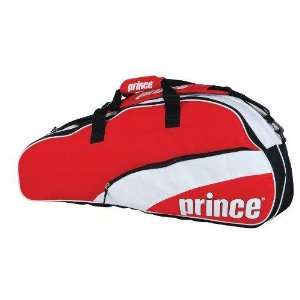Prince 11 T22 Team 6 Pack Tennis Bag (Red/White) Sports