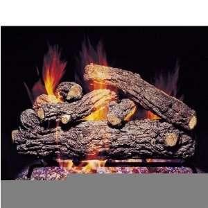 com Peterson Gas Logs 24 Inch Rustic Oak Designer Vented Propane Gas