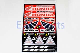 Mini Pocket Bike Honda Stickers Decals Parts 47cc 49cc