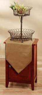 Tier Decorative Wire Table Top Display Basket