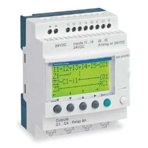SCHNEIDER ELECTRIC SR2B121BD Logic Relay, Input Voltage 24VDC