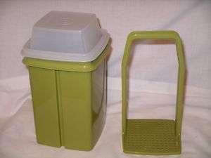 TUPPERWARE Green Pickle Olive Keeper Storage   3 Pc