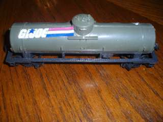 VINTAGE GI JOE TRAIN TYCO TANKER