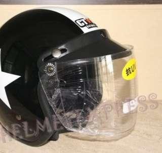 VESPA Motorcycle Harley Scooter Visor goggle Helmet Jet