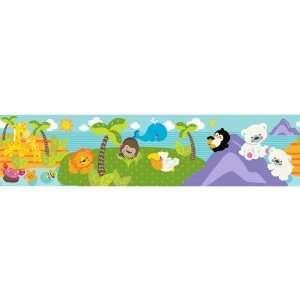 PRECIOUS PLANET Wallpaper Wall Border Room Decor Baby Animals BR1